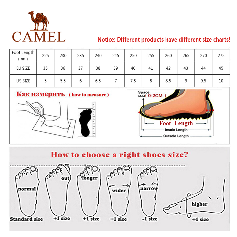 Camel caminhadas sapatos botas homem mulher trekking