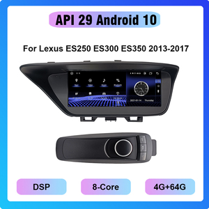 Image 1 - COHO راديو السيارة Android 10.0 ، ثماني النواة ، 4 64 جيجابايت ، نظام تحديد المواقع العالمي للملاحة ، مشغل وسائط ، لكزس ES250 ، ES300 ، ES350 (2013 2017)