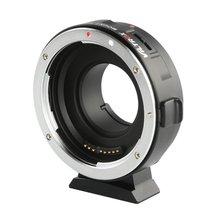 Ef-m1 Adapter Ring Canon Lens To M43 Panasonic Gh5 Olympus E-m10 Camera Auto цена и фото