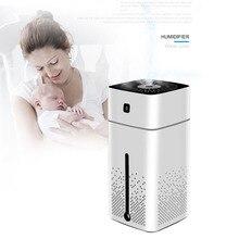 Aroma Diffuser Mist-Maker Home Air-Purifier Led-Lights Water-Cube Ultrasonic Mini 1000ml