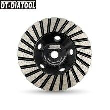 цена на DT-DIATOOL 1pc Dia 100mm/4 #30 Diamond Grinding Cup Wheel M14 thread Diamond Grinding Disc for Granite Marble Sanding Wheel