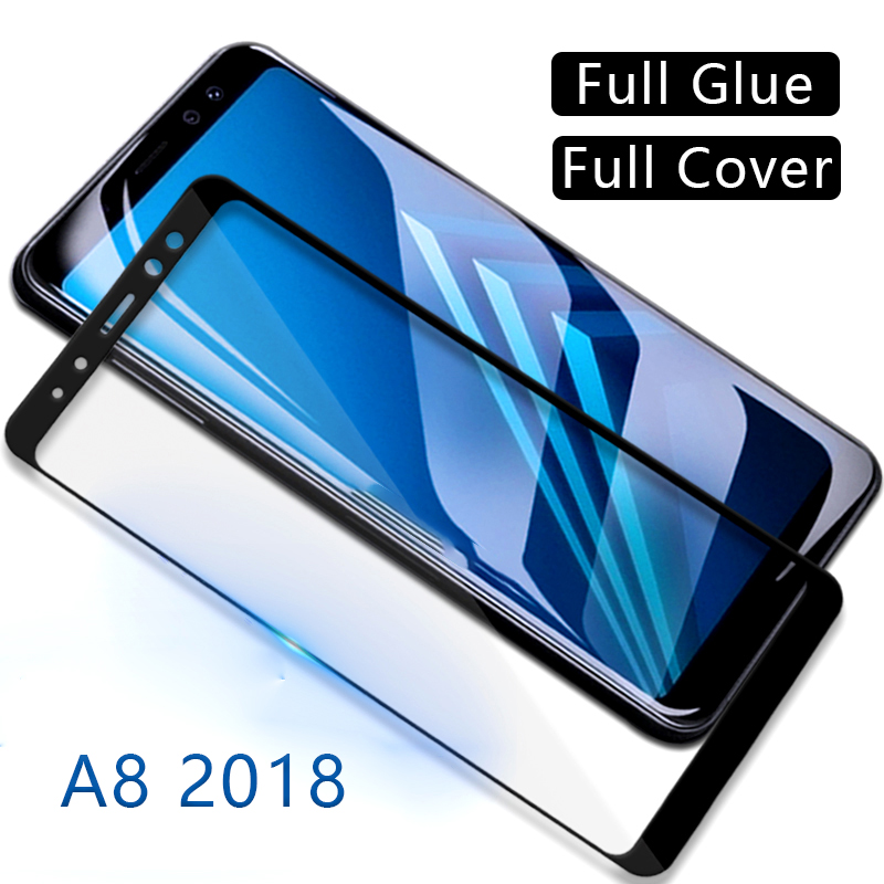 protective <font><b>glass</b></font> for <font><b>samsung</b></font> <font><b>a8</b></font> <font><b>2018</b></font> screen protector tempered glas on galaxy a 8 8a a82018 film samsun samsumg sansung galaxi image