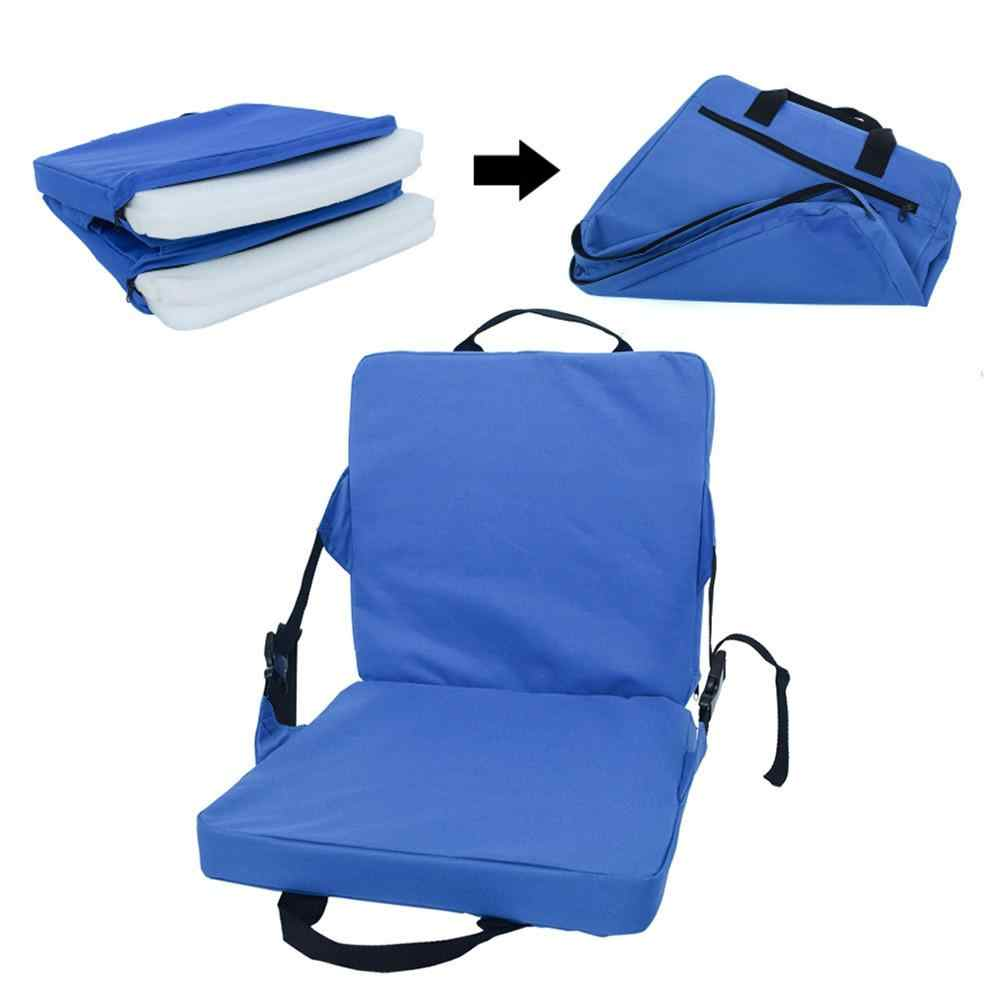 Obobb Waterproof Stadium Seat Cushion Canoe Chair with Back Support for Hiking Camping Boating