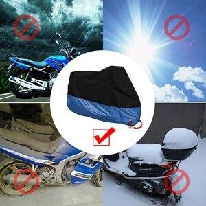 Image 5 - M L XL 2XL 3XL 4XL אופנוע כיסוי אוניברסלי חיצוני Uv מגן כל עונה עמיד למים אופני גשם Dustproof מנוע קטנוע
