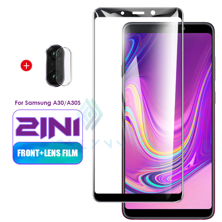 3D Full Cover For <font><b>Samsung</b></font> Galaxy M30S A70S <font><b>A50S</b></font> A20S A30S Protective <font><b>Glass</b></font> On A51 A71 A91 A6 A8 J4 J6 Back Camera Lens Protector image