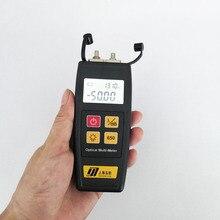 Darmowa wysyłka YJ 550 światłowodowy Mini Tester miernik mocy optycznej z lokalizator uszkodzeń wizualnych 50MW 30MW 10MW 1MW Laser