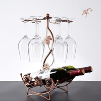 Factory Direct Selling Wholesale Wine Cup Holder Wine Rack Decoration Wine Cabinet Decorations Decoration Goblet Wine Cup Holder