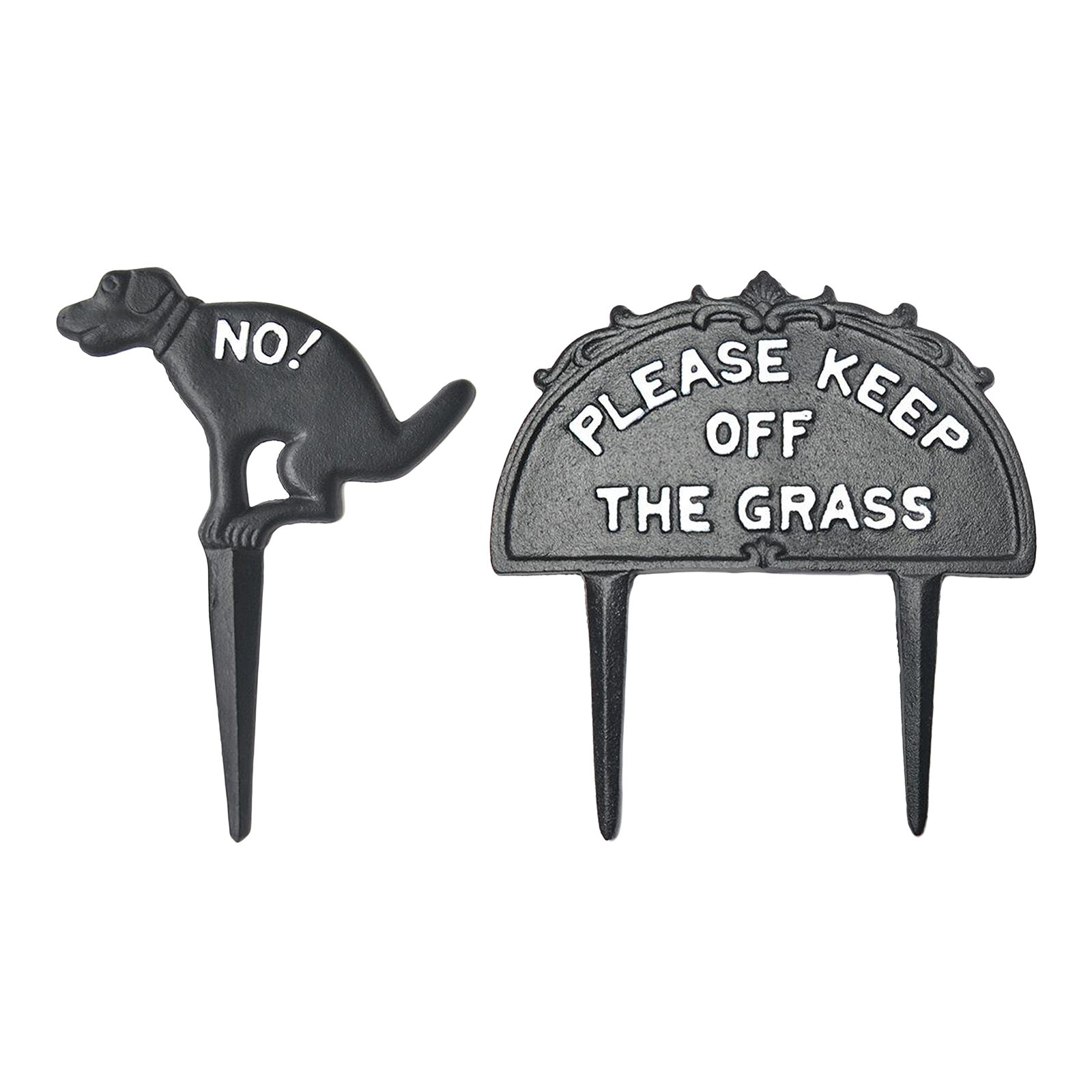 For Pet Fans Home Decors No Dog Pooping Iron Yard Sign  My Pet World Store