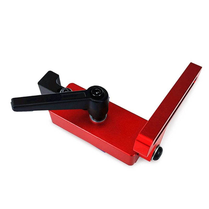 45 Type Miter Track Stop For T-Slot T-tracks Aluminum Alloy Woodworking DIY Tool