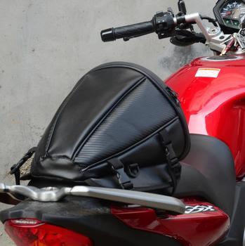 Motorcycle tail bag waterproof tail bag saddle bag storage raincoat helmet tail bag saddle bag motorcycle waterproof travel bag ring detail saddle bag