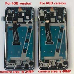 "Image 4 - กรอบ + Original สำหรับ 6.15 ""Huawei P30 Lite MAR LX1M 24MP 48MP MAR LX2J จอแสดงผล LCD + Digitizer แผงสัมผัสชิ้นส่วน"