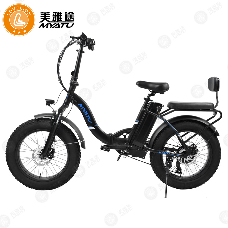 MYATU Electric bicycle 48V 36V Lithium Battery Electrically Assisted Mountain font b Bike b font