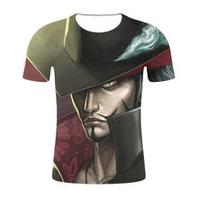 Fashion New 3D T-Shirt Luffy Straw Hat Japanese Anime Funny T Shirts Men Women O-Neck Black Short Sleeve Tshir