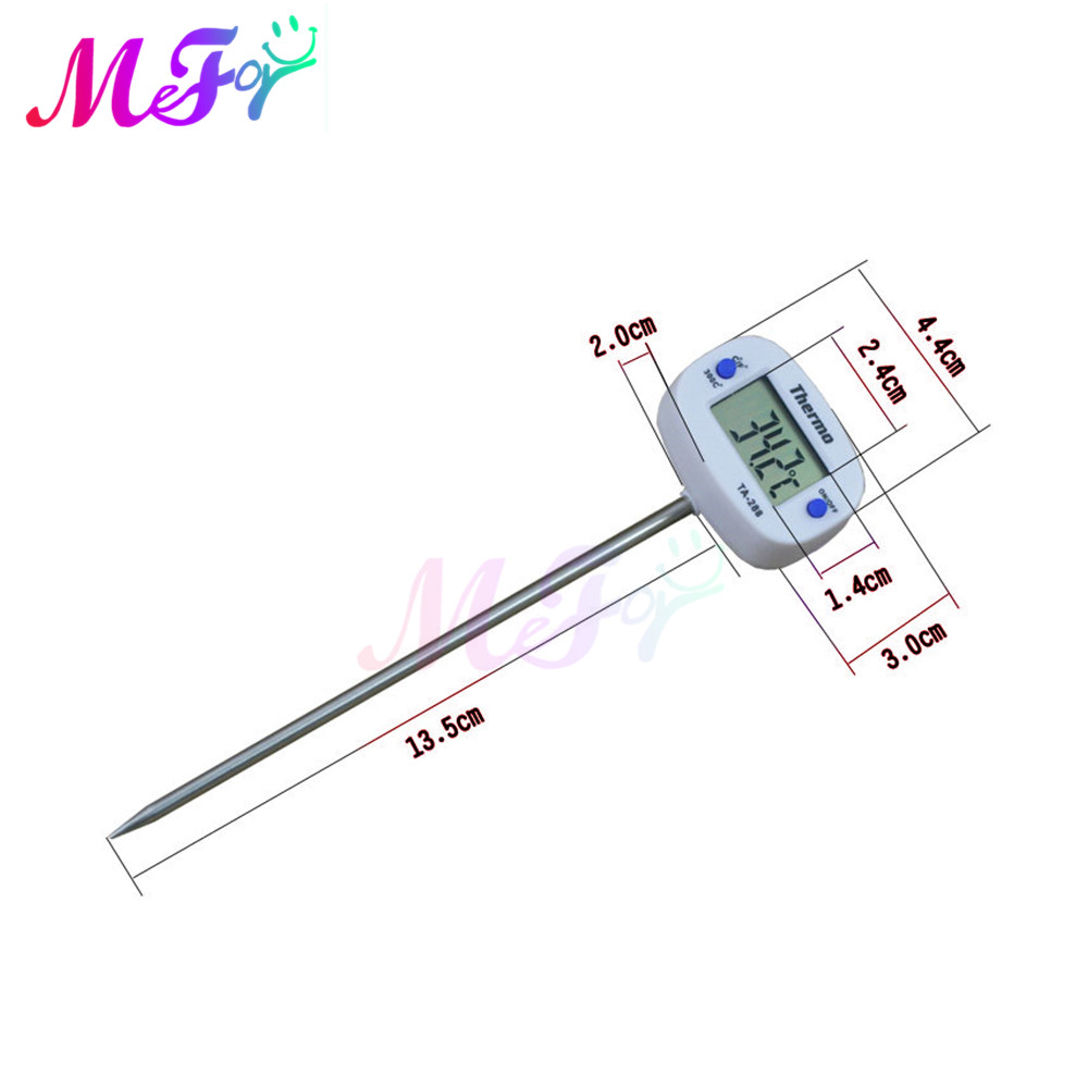 Probe type electronic thermometer