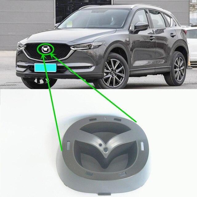 Araba aksesuarları KD5H 50 721 vücut parçaları ön tampon grille sembol logo braketi için Mazda CX5 II 2016 2020 KF
