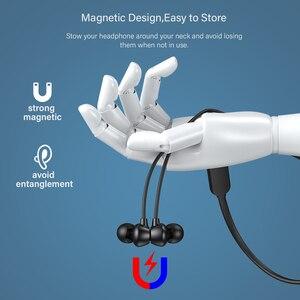 Image 3 - Dacom L03X Bassบลูทูธหูฟังแม่เหล็กหูฟังกีฬากันน้ำหูฟังไร้สายหูฟังพร้อมไมโครโฟนสำหรับIOS Xiaomi