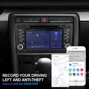 Image 5 - Isudar H53 samochód odtwarzacz multimedialny 2 Din radio samochodowe z systemem Android dla Audi/A4/S4 2002 2008 GPS DVD 8 rdzeń pamięci RAM 4 GB ROM 64 GB DVR DSP