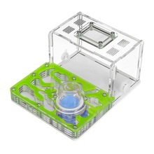 New DIY Acrylic Ant Nest Ant Farm with Feeding Area Big Ant House for Pet Anthill 4.7*11.7*7.5cm