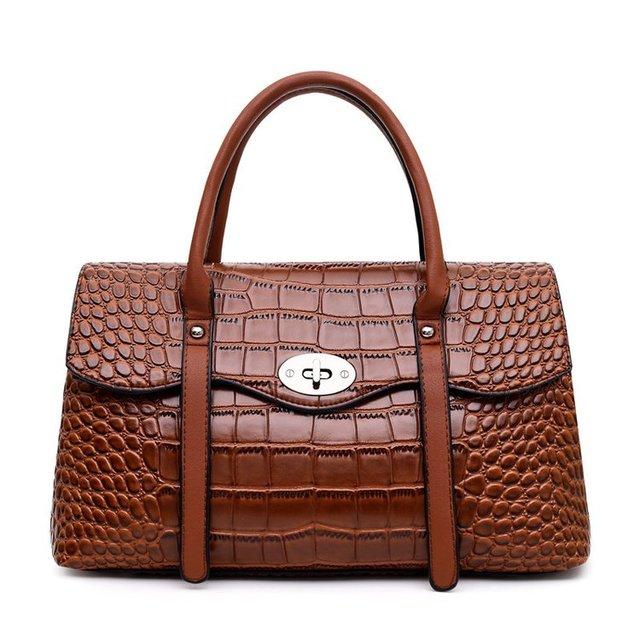 2019 New Fashion Women Crocodile Pattern Messenger Bags PU Leather Shoulder Bags for Ladies Female Girls Bag Alligator Handbags