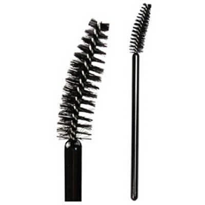 Peigne à cils brosse à sourcils peigne à sourcils LB brosse cosmétique brosse à cils en spirale coude brosse à Mascara jetable
