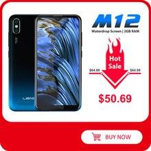 """LEAGOO M12 Handy 5,7 """"HD + Waterdrop Bildschirm 2GB RAM 16GB ROM MT6739V 3000mAh 8MP kamera Android Smartphone"""