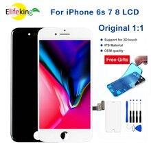 원래 1:1 OEM 3D 터치 스크린 아이폰 6S 7 7P 8 8P LCD 디스플레이 디지타이저 Aseembly 휴대 전화 수리