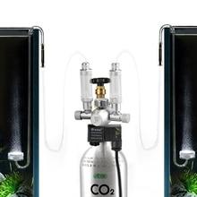 Aquarium Co2 Regulator 12V co2 solenoid valve Pressure Bubble Counter Fish Tank Tool CO2 Control
