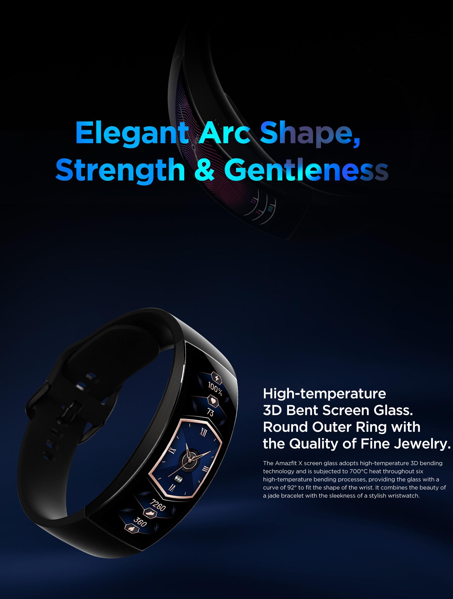 Amazfit X Curved Smartwatch 14
