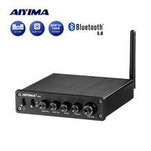AIYIMA-Amplificador DE SONIDO TPA3116, Amplificador de sonido Digital HiFi TPA3116D2 con Bluetooth 2,1, 50Wx2 + 100W