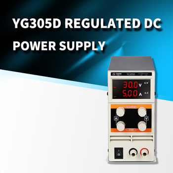 30V 5A Three-digit Display Adjustable Mobile Phone Computer Repair Power Supply YG305D New 305D Regulated DC Power Supply all new digital kxn 305d high power switching dc power supply 0 30v voltage output 0 5a current output