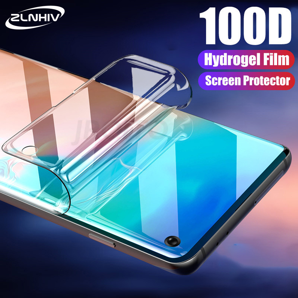 ZLNHIV hydrogel film for <font><b>samsung</b></font> galaxy s8 <font><b>s9</b></font> s10e s10 <font><b>plus</b></font> s7 edge phone <font><b>screen</b></font> protector full cover <font><b>protective</b></font> film Not Glass image