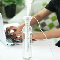 USB Tragbare Luftbefeuchter Diamant Flasche Aroma Diffuser Nebel-hersteller Für Home Office Befeuchtung Abnehmbare 3
