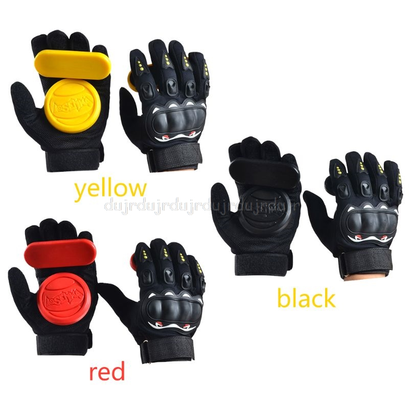 Longboard Gloves Thick Downhill Freeride Slide Protector Skateboarding Gear N28 19 Dropship