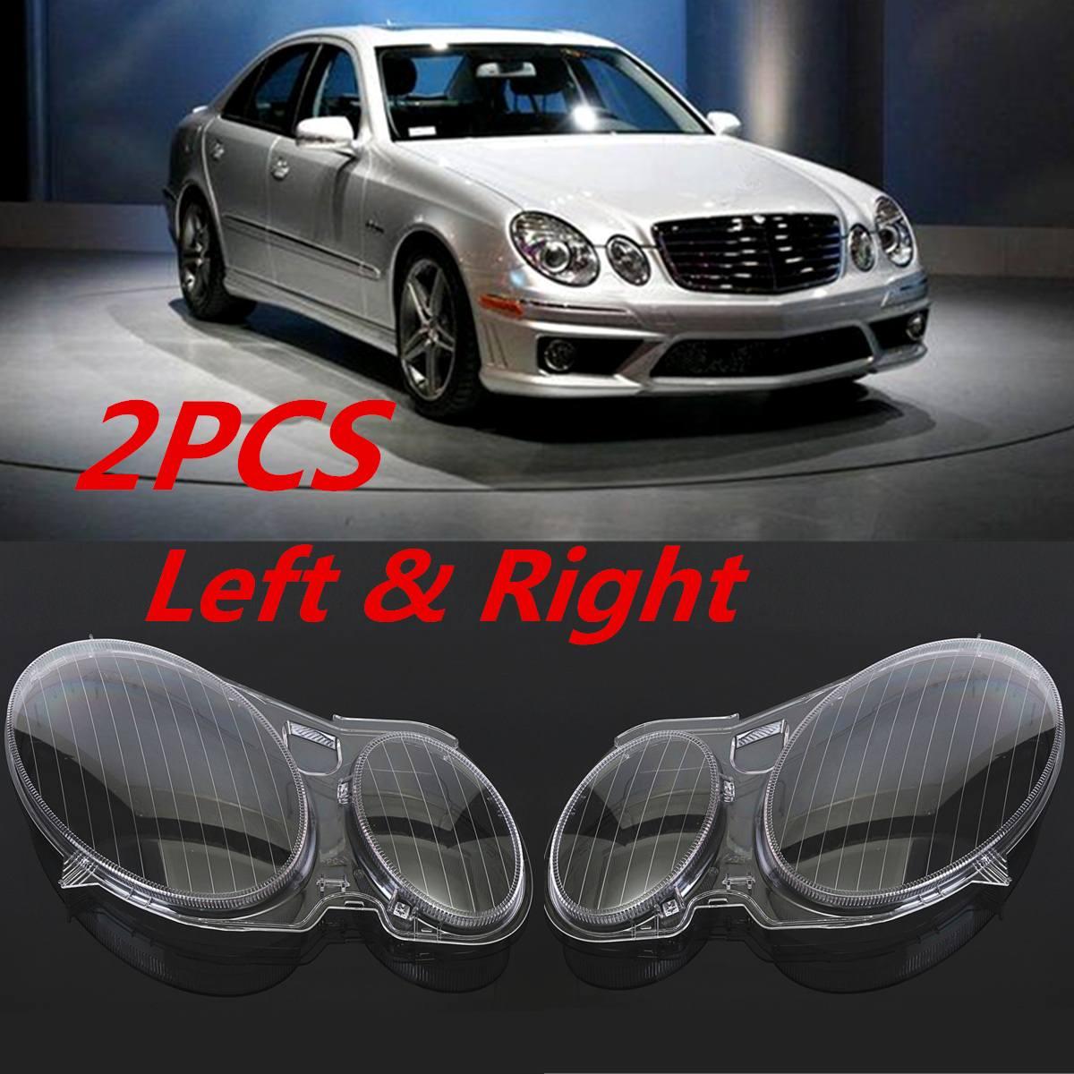 New Headlight Cover W211 Car Headlight Lens Glass Cover For Benz W211 E240 E200 E350 E280 E300 2002-2008 Lamp cover Cover Shell