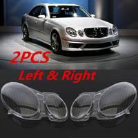 New Headlight Cover W211 Car Headlight Lens Glass Cover For Benz W211 E240 E200 E350 E280 E300 2002 2008 Lamp cover Cover Shell
