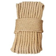 10mm 20M Jute Ropes Twine Natural Hemp Cord DIY Nordic Home Decor Cat Pet Scratching(China)