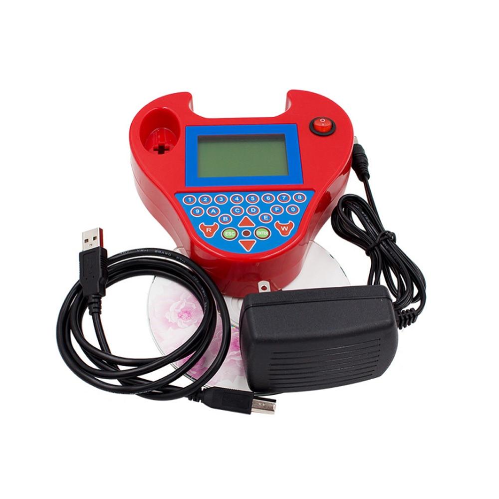 Auto car key Programmer Super smart mini zed bull car transponder tool Red/black ZED BULL Multi-Language car key chip reader