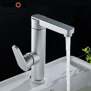New Arrival Economic Aluminum Matte Color Bathroom Sink Faucet Deck Mount Fancy Washbasin Water Mixer Tap 1228C