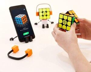 Image 5 - Оригинальный Интеллектуальный супер куб Youpin Giiker I3s AI, умный волшебный Магнитный Bluetooth пазл с синхронизацией приложений, игрушки [обновленная версия]