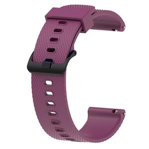 Image 3 - צבעוני 20mm רצועת השעון עבור Garmin Vivoactive3 3 סיליקון צמיד צמיד עבור Vivomove HR רצועת תחליף Vivoactive 3