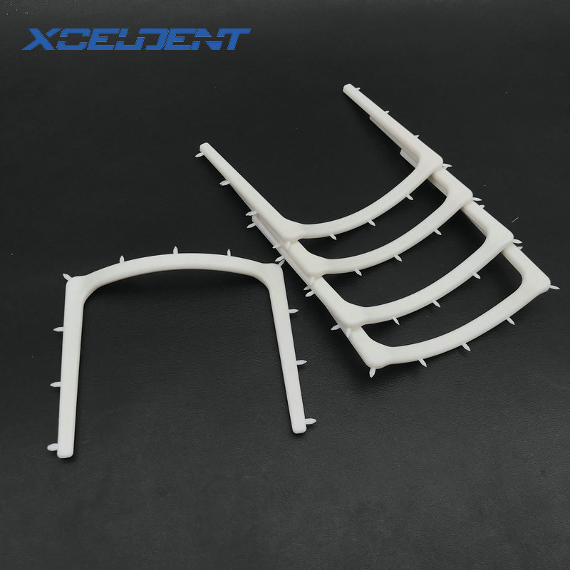 5pcs Dentistry Clinic Plastic Rubber Dam Frame Holder Instrument Autoclavable For Dentistry Therapy