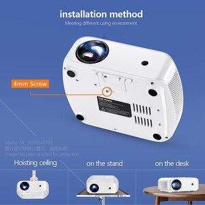 Image 5 - Aun Máy Chiếu Mini F10/Lên, 1280*720P, android 7.1 (2G + 16G) WIFI LED Proyector Cho HD 1080P 3D Nhà Điện Ảnh trò Chơi Mới Video Beamer