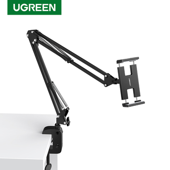 Ugreen Phone Holder Stand Lazy Bracket Flexible Clip Holder Mobile Cell Phone Support Stand for Samsung Xiaomi Holder Bed Stand
