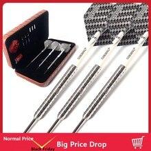Yeni CUESOUL 3 adet/takım 14.5 cm 24g Profesyonel Çelik İpucu Dart Süper Ince 98% Tungsten Çelik İpucu Dart Seti