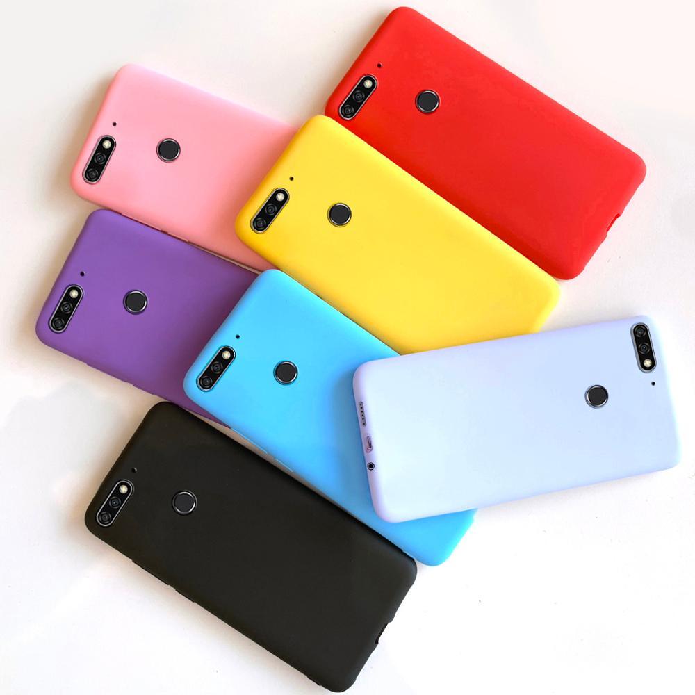 Силиконовый чехол для Huawei Y7 Y 7 2018, чехол для Huawei Y7 Prime 2018, чехол для телефона, мягкие чехлы, чехол для Huawei Y7 2018, задняя крышка