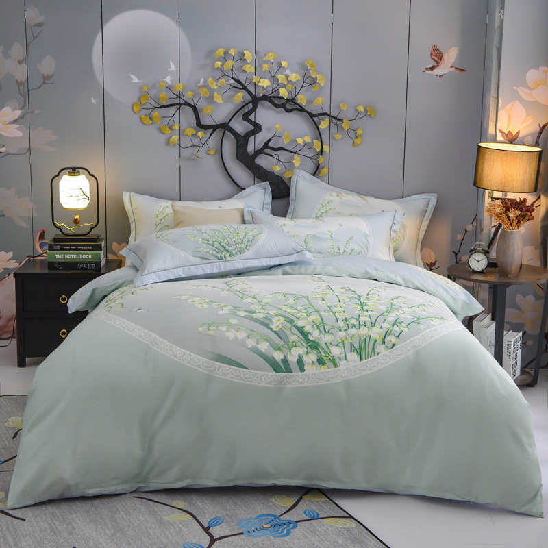 FLORAL GREY DUVET COVER WITH PILLOW CASE QUILT COVER BEDDING SET ALL SIZE