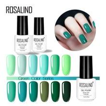 Rosalind jel 1S tırnak jeli lehçe nane yeşil renkli tırnaklar sanat 7ML jel cila UV jel vernik gerek taban ve pardösü çivi manikür