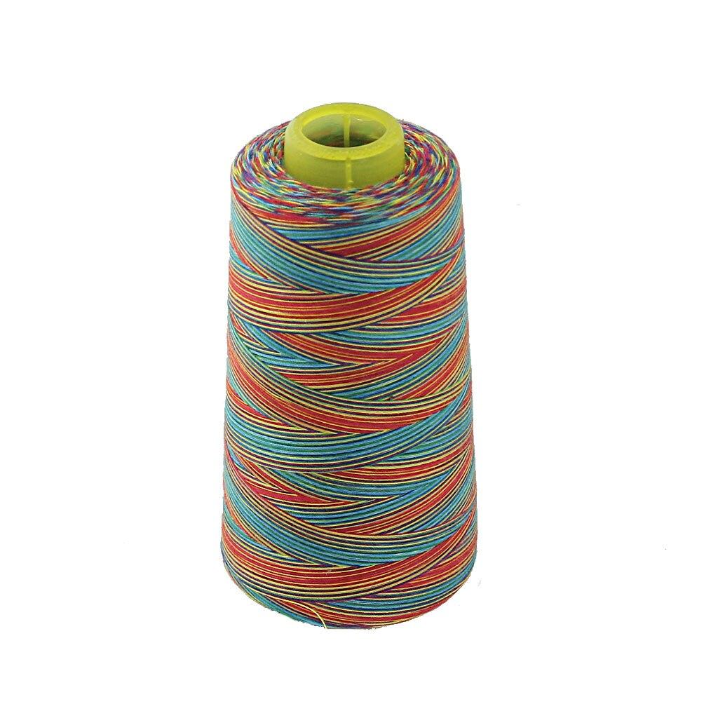 Шпуля из многоцветной вощеной нити 150D для шитья кожи своими руками