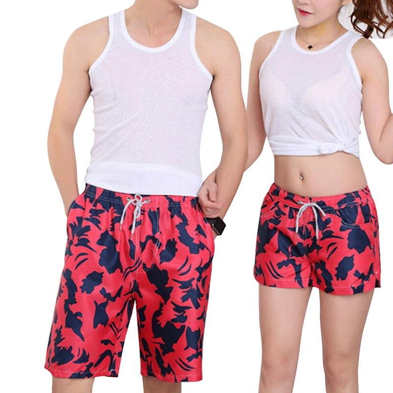 2019 Men Summer Beach Shorts Wholesale Fashion Board Shorts Brand Sport Surfing Breeches Couples Sports Shorts