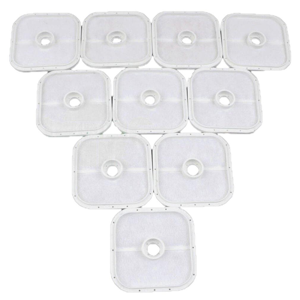 10 Pcs Air Filter For Echo Srm266 Srm266S Srm266T Ppt266 Pe266 Shc266 Trimmer Air Filter Portable Durable